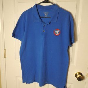 Wright & Ditson Men's Blue Cubs Polo Shirt Size M